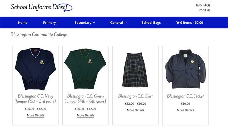 School Uniforms Direct Ireland