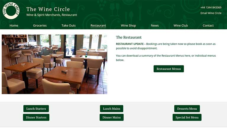 Wine Circle Restaurant